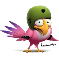 Птах в каске