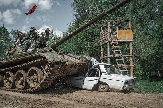 Подарок езда на танке 52