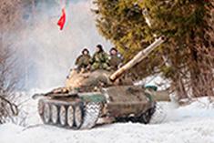 Катание на танках и другой бронетехнике