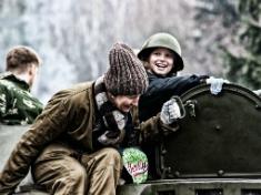 Катание на танке с детьми