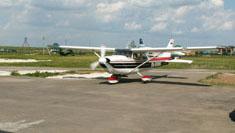 Небесное приключение (самолет Cessna 172)