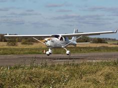 Полет на самолете Jabiru J430