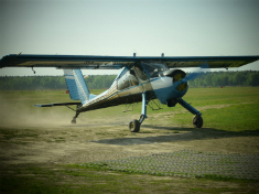 Полет на самолете Wilga 35