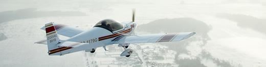 Полет на самолете Zodiac